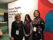Novi put participated at the Human Rights Defenders World Summit 2018