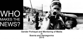 Gender Portrayal and Monitoring of Media in